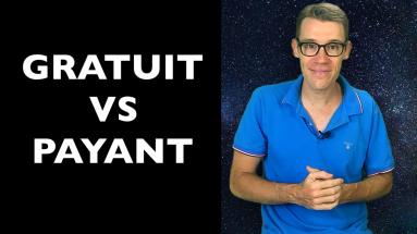 Quelle est la différence entre le contenu gratuit et le contenu payant